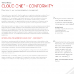 CLOUD ONE™ – CONFORMITY