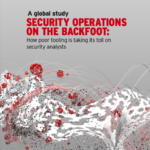SECURITY OPERATIONS ON THE BACKFOOT